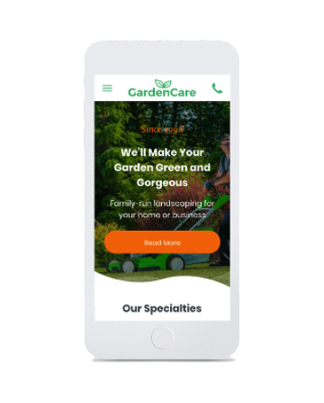 modèle garden smartphone