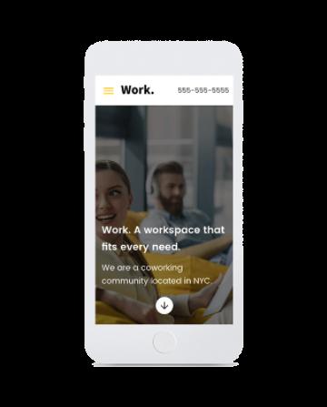 template primobiweb smartphone